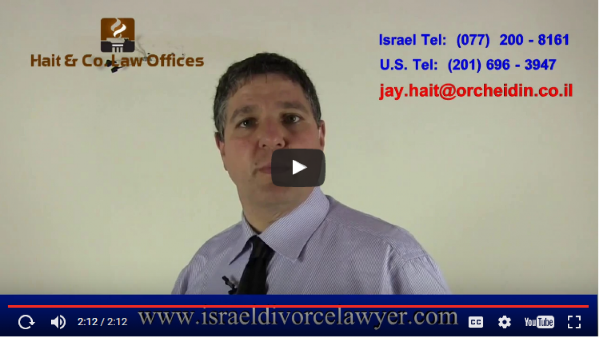 How do you prosecute a Hague case in Israel if you don't speak Hebrew?